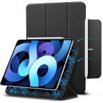 ESR Rebound Magnetic iPad Air 4 (2020) oldalra nyíló smart tok, fekete