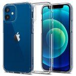 Spigen Ultra Hybrid Crystal iPhone 12 Mini hátlap, tok, átlátszó