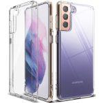 Ringke Fusion Samsung Galaxy S21 hátlap, tok, átlátszó