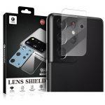 Mocolo Tg Camera Lens Samsung Galaxy S21 Ultra kameravédő fólia , átlátszó