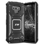 Zizo Magnetic Connect Armor Samsung Galaxy Note 9 ütésálló hátlap, tok, fekete