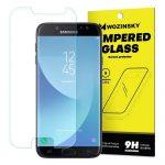 Wozinsky Samsung Galaxy J7 (2017) J730 kijelzővédő edzett üvegfólia (tempered glass) 9H keménységű (nem teljes kijelzős 2D sík üvegfólia), átlátszó