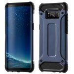 Hybrid Armor Tough Rugged Samsung Galaxy S8 Plus ütésálló hátlap, tok, sötétkék