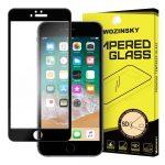 Wozinsky Premium iPhone 6 Plus/6S Plus Glass Screen 5D Full Glue teljes kijelzős edzett üvegfólia, 9H keménységű, fekete