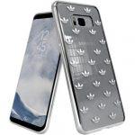 Adidas Original Clear Case Entry Samsung Galaxy S8 Plus hátlap, tok, mintás, átlátszó