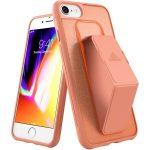 Adidas Sport Grip Case iPhone 6/6S/7/8/SE (2020) hátlap, tok, narancssárga