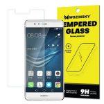 Wozinsky Huawei P9 kijelzővédő edzett üvegfólia (tempered glass) 9H keménységű (nem teljes kijelzős 2D sík üvegfólia), átlátszó
