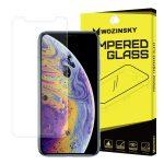 Wozinsky iPhone X/XS kijelzővédő edzett üvegfólia (tempered glass) 9H keménységű (nem teljes kijelzős 2D sík üvegfólia)