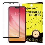 Wozinsky Xiaomi Mi 8 lite Glass Screen 5D Full Glue teljes kijelzős edzett üvegfólia (tempered glass), 9H keménységű, tokbarát, fekete