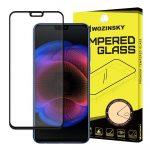 Wozinsky Huawei Honor 8X 5D Full Glue teljes kijelzős edzett üvegfólia (tempered glass) 9H keménységű, tokbarát, fekete