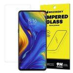 Wozinsky Xiaomi Mi Mix 3 kijelzővédő edzett üvegfólia (tempered glass) 9H keménységű (nem teljes kijelzős 2D sík üvegfólia), átlátszó