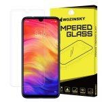 Wozinsky Xiaomi Redmi Note 7 kijelzővédő edzett üvegfólia (tempered glass) 9H keménységű (nem teljes kijelzős 2D sík üvegfólia), átlátszó