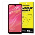 Wozinsky Huawei Y7 (2019)/Y7 Prime (2019) kijelzővédő edzett üvegfólia (tempered glass) 9H keménységű (nem teljes kijelzős 2D sík üvegfólia), átlátszó