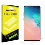 Wozinsky Samsung Galaxy S10 Plus Full Body hydrogel Self-Repair 360° kijelző és hátlapvédő fólia, átlátszó