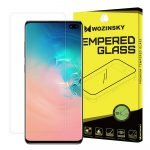 Wozinsky 3D Screen Protector Film Samsung Galaxy S10 Plus 3D teljes kijelzős védőfólia, ujjlenyomatbarát, átlátszó