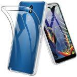 LG K40 Super Slim 0.5mm szilikon hátlap, tok, átlátszó