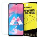 Wozinsky Samsung Galaxy M30 kijelzővédő edzett üvegfólia (tempered glass) 9H keménységű (nem teljes kijelzős 2D sík üvegfólia), átlátszó