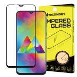 Wozinsky Glass Screen 5D Full Glue Samsung Galaxy M20 teljes kijelzős edzett üvegfólia, 9H keménységű, tokbarát, fekete
