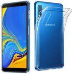 Samsung Galaxy A50 Ultra Clear Gel 0,5mm szilikon hátlap, tok, átlátszó