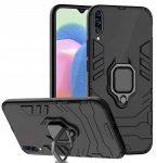 Armor Ring Magnetic iPhone 7/8/Se (2020) ütésálló hátlap, tok, fekete