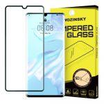 Wozinsky Huawei P30 Pro 5D Full Glue teljes kijelzős edzett üvegfólia (tempered glass) 9H keménységű, fekete