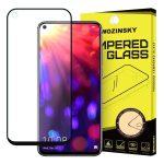 Wozinsky Huawei Honor 20 5D Full Glue teljes kijelzős edzett üvegfólia (tempered glass) 9H keménységű, tokbarát, fekete