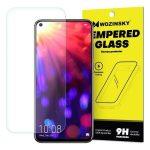 Wozinsky Huawei Nova 5T/Honor 20/Honor 20S kijelzővédő edzett üvegfólia (tempered glass) 9H keménységű (nem teljes kijelzős 2D sík üvegfólia), átlátszó