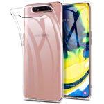Samsung Galaxy A80 Super Slim 0.5mm szilikon hátlap, tok, átlátszó
