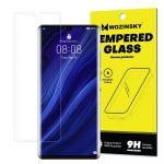 Wozinsky Huawei P30 Pro kijelzővédő edzett üvegfólia (tempered glass) 9H keménységű (nem teljes kijelzős 2D sík üvegfólia), átlátszó