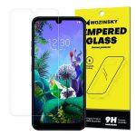 Wozinsky LG Q60/K50 kijelzővédő edzett üvegfólia (tempered glass) 9H keménységű, átlátszó