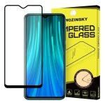 Wozinsky Xiaomi Redmi 8 Glass Screen 5D Full Glue teljes kijelzős edzett üvegfólia (tempered glass), 9H keménységű, tokbarát, fekete