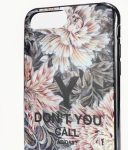 Adidas Y-3 Snap Case Graphic iPhone X/Xs virág mintás, hátlap, tok, színes