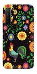 Casegadget Huawei P40 Lite 5G/Nova 7 SE kakas 2 mintás tok, hátlap, színes