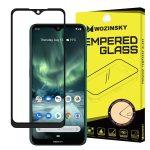 Wozinsky Nokia 7.2/6.2 5D Full Glue teljes kijelzős edzett üvegfólia, tokbarát, fekete