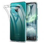 Nokia 7.2/6.2 Ultra Slim 0.5mm szilikon hátlap, tok, átlátszó