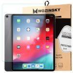 Wozinsky iPad 10.2 (2019) kijelzővédő edzett üvegfólia (tempered glass) 9H keménységű, átlátszó