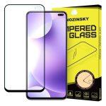 Wozinsky Xiaomi Redmi K30 5D Full Glue teljes kijelzős edzett üvegfólia (tempered glass) 9H keménységű, tokbarát, fekete