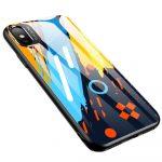 Color Glass Case 1 iPhone Xr edzettüveg hátlap, tok, mintás, színes