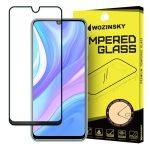 Wozinsky Huawei P40 Lite/Nova 7i/Nova 6 SE 5D Full Glue teljes kijelzős edzett üvegfólia (tempered glass) 9H keménységű, tokbarát, fekete
