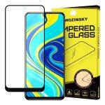 Wozinsky Xiaomi Redmi Note 9 Pro/Redmi Note 9S 5D Full Glue teljes kijelzős edzett üvegfólia (tempered glass) 9H keménységű, tokbarát, fekete
