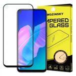Wozinsky Huawei P40 Lite E 5D Full Glue teljes kijelzős edzett üvegfólia (tempered glass) 9H keménységű, tokbarát, fekete