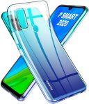 Huawei P Smart (2020) Ultra Slim 0.5mm szilikon hátlap, tok, átlátszó