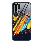 Color Glass Case 5 Huawei P30 Pro edzettüveg hátlap, tok, mintás, színes