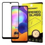 Wozinsky Glass Screen 5D Full Glue Samsung Galaxy A31 teljes kijelzős edzett üvegfólia, 9H, tokbarát, fekete