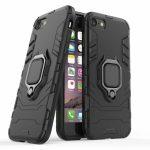 Armor Ring iPhone 7/8/SE (2020) ütésálló hátlap, tok, fekete