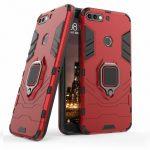 Armor Ring iPhone 7/8/SE (2020) ütésálló hátlap, tok, piros