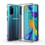 Wozinsky Anti-Shock Samsung Galaxy S20 FE/S20 FE 5G ütésálló, szilikon hátlap, tok, átlátszó