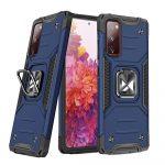 Wozinsky Armor Ring Samsung Galaxy S20 FE ütésálló hátlap, tok, sötétkék