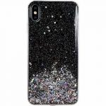 Wozinsky Star Glitter Shining Samsung Galaxy S20 FE hátlap, tok, fekete