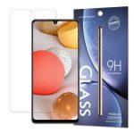 Samsung Galaxy A42 5G kijelzővédő edzett üvegfólia (tempered glass) 9H keménységű (nem teljes kijelzős 2D sík üvegfólia), átlátszó